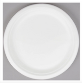 "EcoChoice Biodegradable, Compostable Sugarcane / Bagasse 10"" Plate - 500/Case"