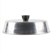 """American Metalcraft BA840S 8 3/4"""" Round Stainless Steel Basting Cover"""