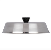 """American Metalcraft BAOV795S - 9 1/4"""" x 6 7/8"""" Oval Stainless Steel Basting Cover"""