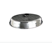 """American Metalcraft BAOV972S - 11 7/8"""" x 8 3/4"""" Oval Stainless Steel Basting Cover"""