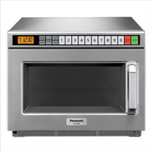 Panasonic NE-12523 Stainless Steel Medium Duty Commercial Microwave Oven - 120V, 1200W
