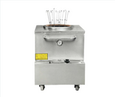 """Stainless Steel Tandoor Clay Oven - Natural Gas 28"""" x 30"""""""