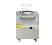 """Stainless Steel Tandoor Clay Oven - Natural Gas -  32"""" x 32"""""""