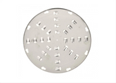 Stainless Steel Shredder Disc with 12 mm Holes for Vegetable Slicer Attachment