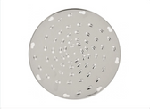 Stainless Steel Shredder Disc with 6 mm Holes for Vegetable Slicer Attachment