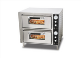 Double Chamber Countertop Pizza Oven