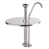 Carnival King CP7 1 oz. Stainless Steel Condiment Pump for 7 Qt. Inset