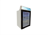 "23"" Countertop Display Freezer with 98 L Capacity"