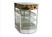 "14"" Display Warmer With Curved Glass"