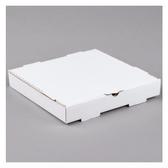 "12"" x 12"" x 2"" White Corrugated Plain Pizza / Bakery Box - 50/Bundle"