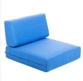 BFM Seating PH6101-CU Belmar Canvas End Armchair Cushion Set