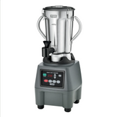 Waring CB15TSF 1 Gallon Stainless Steel Food Blender with Timer and Spigot
