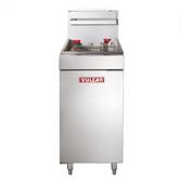 Vulcan LG300 35-40 lb. Gas Floor Fryer - 90,000 BTU
