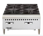 "Vulcan VCRH24  Gas 24"" 4 Burner Countertop Range / Hot Plate - 100,000 BTU"
