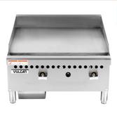 "Vulcan VCRG24-M  Gas 24"" Countertop Griddle with Manual Controls - 50,000 BTU"
