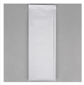 Lavex Janitorial White M-Fold (Multifold) Towel - 4000/Case