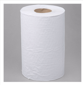 Lavex Janitorial White Hardwound Paper Towel, 350 Feet / Roll - 12/Case