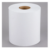 Lavex Janitorial 1-Ply White Center Pull Paper Towel 990' Roll - 6/Case