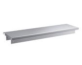 "16-Gauge Type 304 Stainless Steel Pass-Through Shelf - 18"" x 60"""