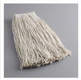 """Lavex Janitorial 24 oz. #32 Cotton Cut End Mop Head with 1"""" Band"""