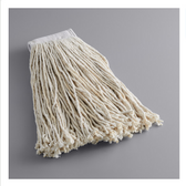 """Lavex Janitorial 24 oz. #32 Cotton Cut End Mop Head with 5"""" Band"""