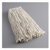 Lavex Janitorial 24 oz. #32 Cotton Cut End Mop Head with Screw On Band