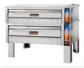 "Sierra Range SRPO-48-2  - 48"" Double Pizza Deck Oven - 132,000 BTU"