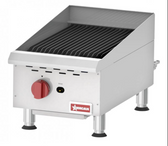 COUNTERTOP RADIANT GAS CHAR-BROILER WITH 1 BURNER