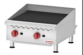 COUNTERTOP RADIANT GAS CHAR-BROILER WITH 2 BURNERS