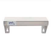 """Lavex Janitorial 5"""" x 12"""" Stainless Steel Restroom Wall Mount Shelf"""