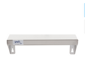"""Lavex Janitorial 5"""" x 16"""" Stainless Steel Restroom Wall Mount Shelf"""