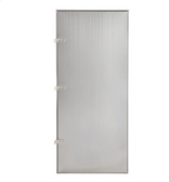 """Lavex Janitorial 18"""" x 42"""" Stainless Steel Urinal Partition"""