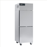 """Delfield GBSF1P-SH Coolscapes 27"""" Top-Mount One Section Half Door Stainless Steel Reach-In Freezer - 21 cu. ft."""