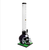 Beer Tubes FBL-32-STAP 1/4 100 oz. Tall Tube Blue Football Helmet Beer Tower
