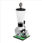 Beer Tubes FGR-ST-STAP 1/4 128 oz. Super Tube Gray Football Helmet Beer Tower