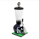 Beer Tubes FBL-ST-STAP 1/4 128 oz. Super Tube Blue Football Helmet Beer Tower