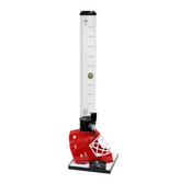 Beer Tubes HRE-32-STAP 1/4 100 oz. Tall Tube Red Hockey Helmet Beer Tower