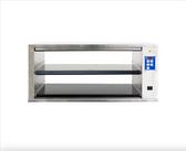 Prince Castle DHB-P1A Dual-Sided 2 Shelf / 4 Pan High Open Cavity Dedicated Holding Bin - 208-240V, 3300W