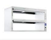 Prince Castle DHB2PT-60P Pass-Through 2 Shelf Open Cavity Dedicated Holding Bin - 208-240V, 6900W