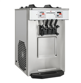 Spaceman 6235A-C Soft Serve Countertop Ice Cream Machine with Air Pump, 2 Hoppers, and 3 Dispensers - 208/230V
