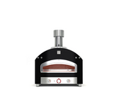 Alfa Piazza Black Stainless Steel Pizza Oven Gas Only - FXP90U-MGRI-T