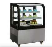 "48"" Floor Model Full Service Refrigerated Display Case - 13 Cu. Ft."