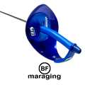 Sabre Complete - Electric, Blaise Freres Maraging Blue