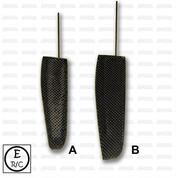 ERC RG65 Carbon Fiber Rudder
