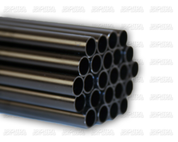11 mm Black Anodized Aluminum Mast