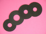 1-1A CARBON FIBER DRAG WASHER SET BY DRAGMASTERS FOR CABELA'S DEPTHMASTER METAL DMM-20 SERIES REELS