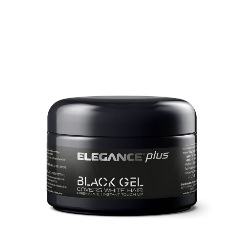 Elegance Plus Gel + Color (Cover White Hairs) (100ml)
