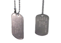 Dog Tags (Non-Active Duty)
