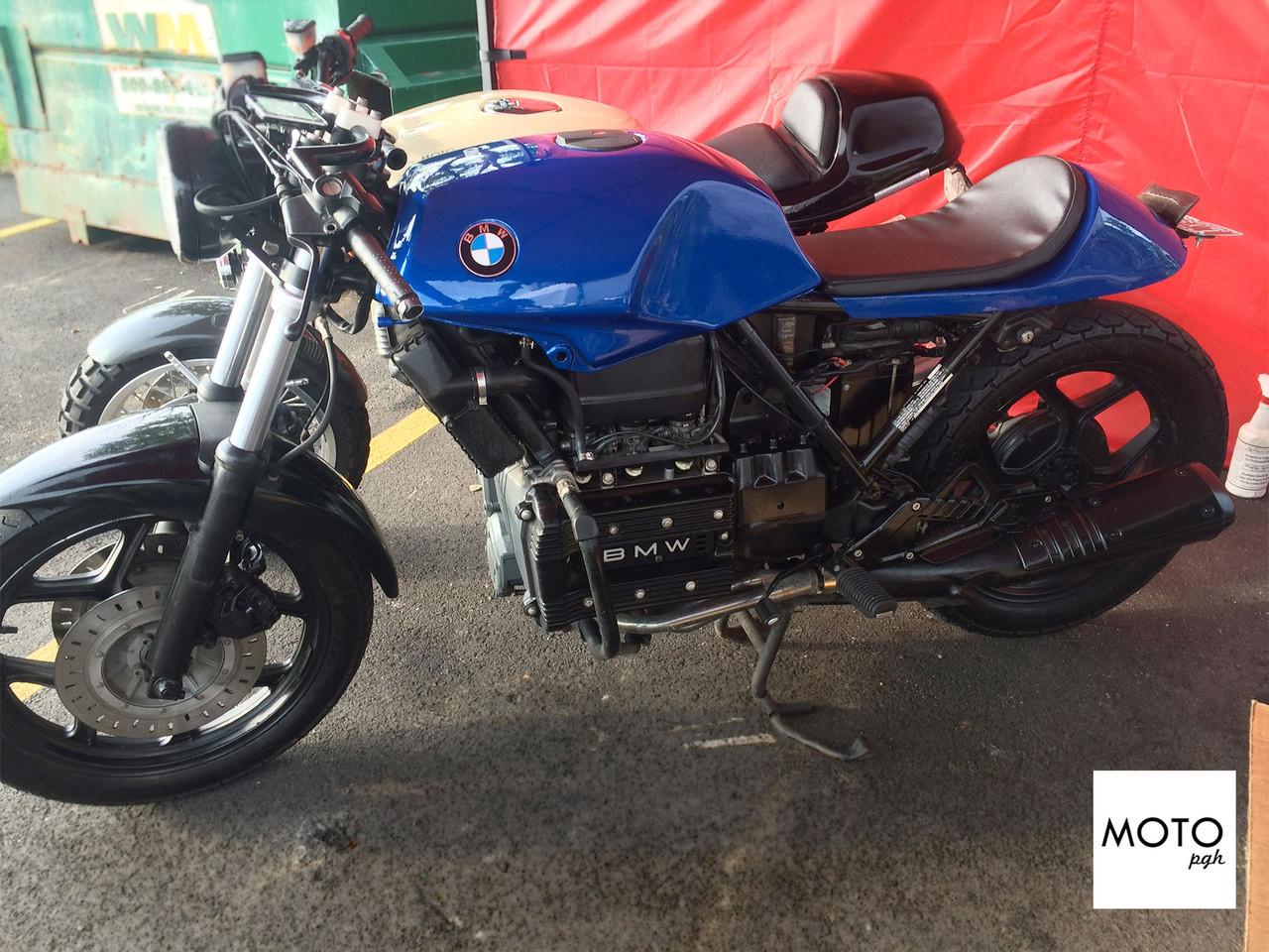 sold 995 moto pgh bmw cafe racer 39 the brick 39 moto pgh. Black Bedroom Furniture Sets. Home Design Ideas