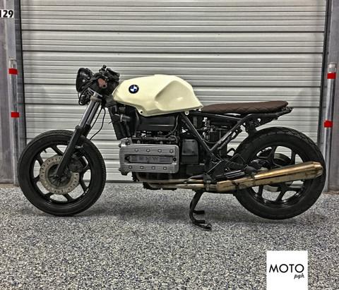 sold)(973) bmw k100 the brick brat cafe racer - moto pgh